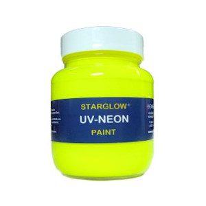Starglow UV Neon Fluorescent Yellow Paint