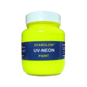 Starglow UV Neon Fluorescent Yellow Paint