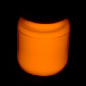 Starglow Orange Luminous Glow Paint
