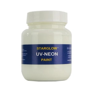 Starglow UV Neon White Fluorescent Paint