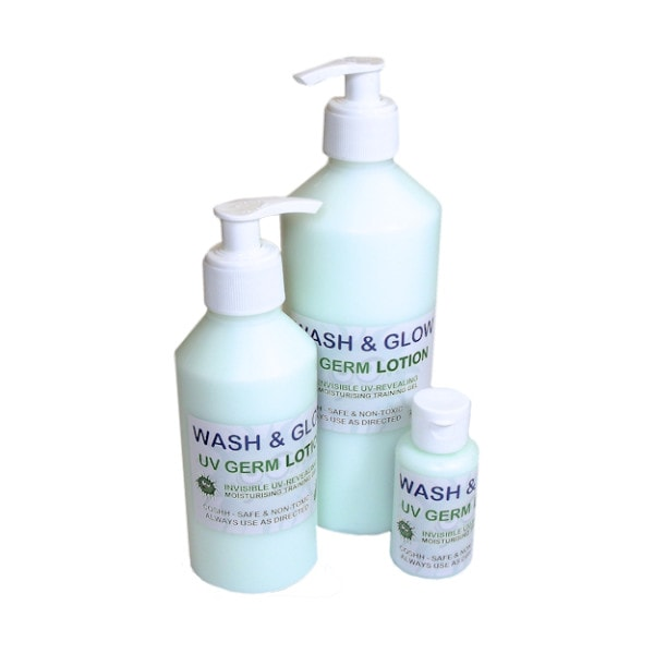 Hand wash training lotion