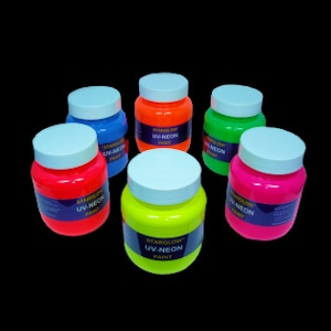 Starglow UV NEON Paint Range