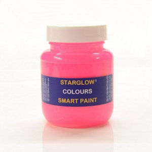 Starglow Colours Pink Glow Paint