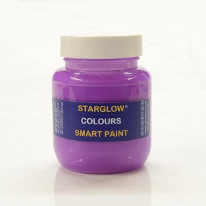 Starglow Colours Purple Glow Paint