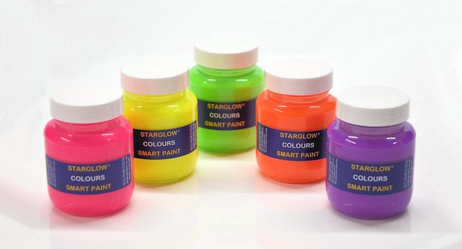 Starglow Colours Glow Paint Range