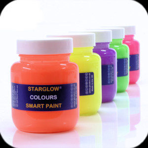 Starglow Colours paint range