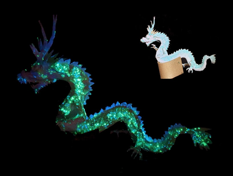 Pixiepainted Dragon